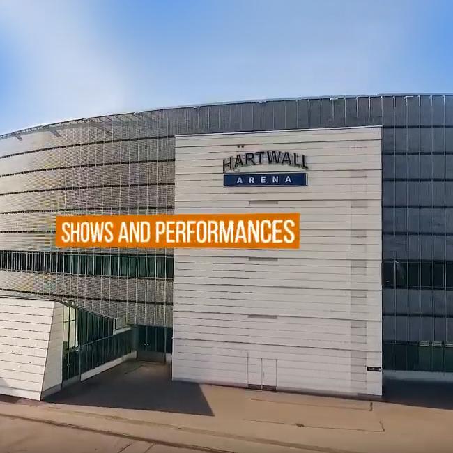 Hartwall Areenan mainos- ja esittelyvideo