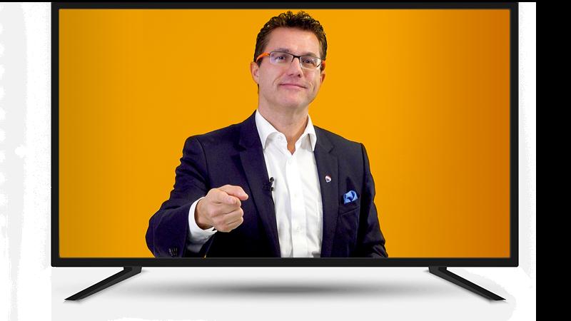 Johtajatiimi Mika D. Rubanovitsch myyntivalmennusvideon järjestäminen