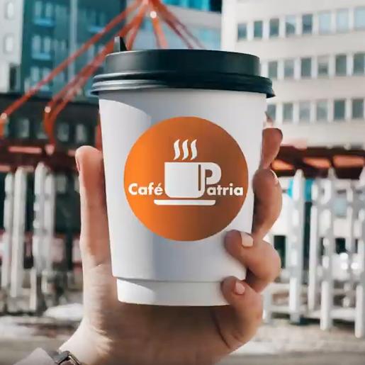 mainosvideon tuotanto Lahdessa sijaitsevalle kahvilalle